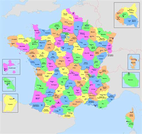 Liste des départements français — Wikipédia