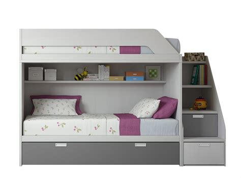 Litera FLICK L3 - Dormitorios Juveniles   Muebles La Fabrica