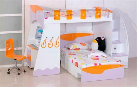 Litera infantil para habitaciones pequeñas :: Imágenes y fotos