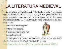 Literatura medieval - Paperblog