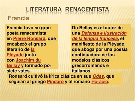 Literatura renacentista breztny