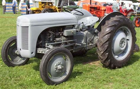 Little Grey Fergie. Classic Tractor | Agricultural | Pinterest