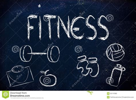 Live A Healthy And Fit Life Stock Photo - Image: 35747880