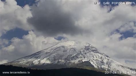 LIVE CAM POPOCATEPETL   YouTube