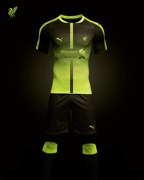 Liverpool FC third kit concept that I designed #football # ...