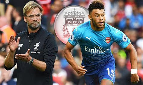 Liverpool transfer news: Alex Oxlade Chamberlain SNUBS ...