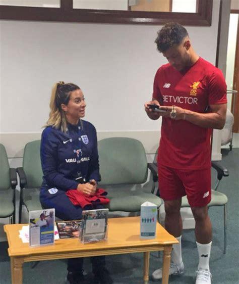 Liverpool transfer news: Fresh photo of Alex Oxlade ...
