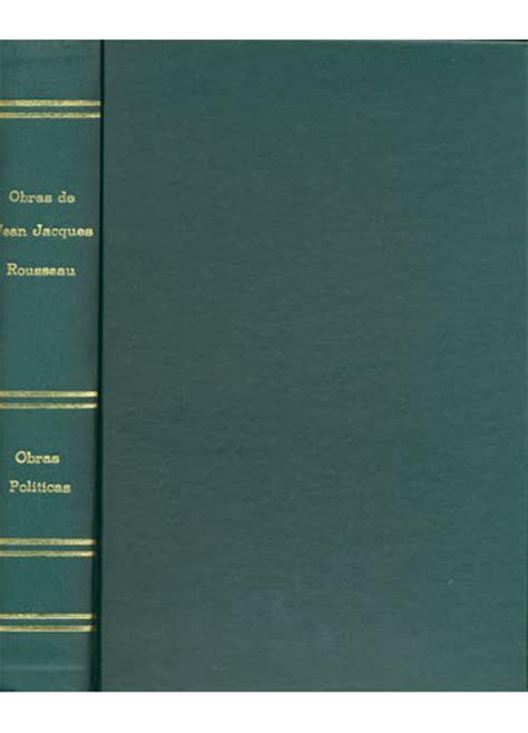 Livro - Obras de Jean-Jacques Rousseau - Sebo do Messias