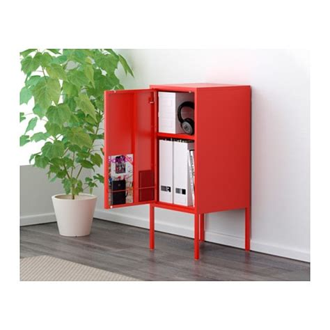 LIXHULT Cabinet Metal/red 35x60 cm   IKEA