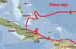 Llegada de Cristóbal Colón a Cuba - EcuRed