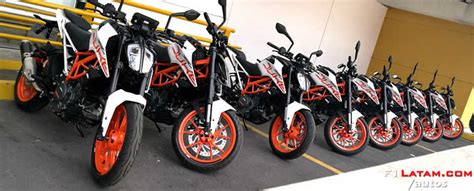 Llegan oficialmente a Colombia las nuevas motocicletas KTM ...