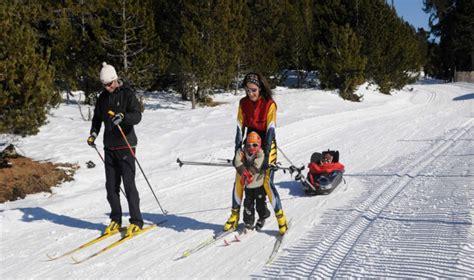 Lles de Cerdanya. Estación de esquí de fondo   Canal Esqui ...
