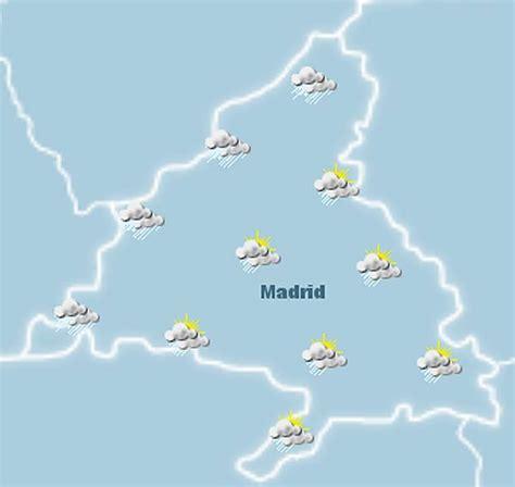 Lluvia durante el puente para los que se queden en Madrid ...