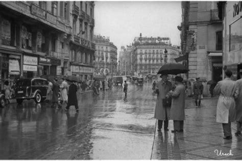Lluvia en Madrid, fotografía de Urech