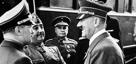 Lo que unió a Hitler, Franco y Mussolini - Historia