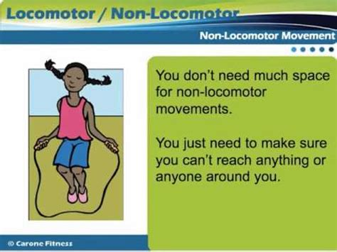 Locomotor and Non Locomotor - YouTube