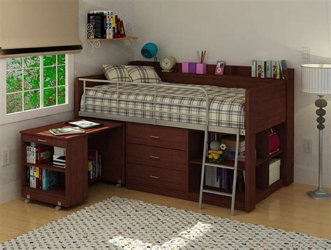 loft-beds-with-desk-underneath-and-dresser : Loft Beds ...
