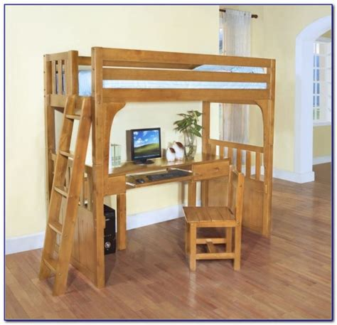 Loft Beds With Desk Underneath - Desk : Home Design Ideas ...