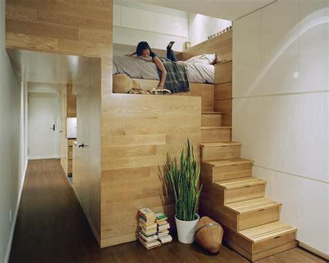 Loft com mobiliário em madeira. | moveis | Pinterest ...