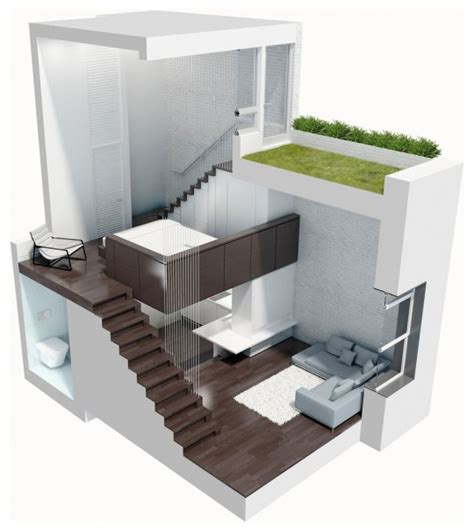 Loft pequeño y funcional | Ideas para decorar, diseñar y ...