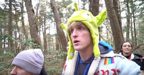 Logan Paul Films Dead Body in Japan's Suicide Forest ...