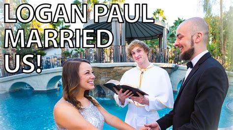 Logan Paul Married Us In a Vegas Mansion   YouTube
