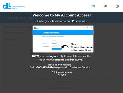 Login | My Account Access – DLL financial solutions partner