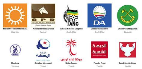 Logotipos de los partidos políticos de todas partes del mundo