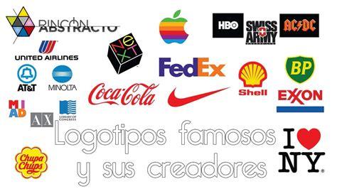 Logotipos famosos y sus creadores - YouTube