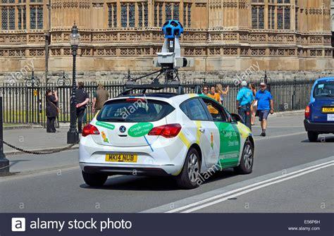 London, England, UK. Google Maps streetview car in ...