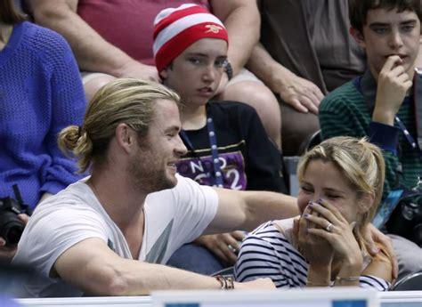 Londres 2012: Elsa Pataky y su marido, Chris Hemsworth ...