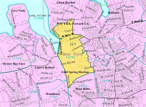 Long island zip code map free - London time sydney time