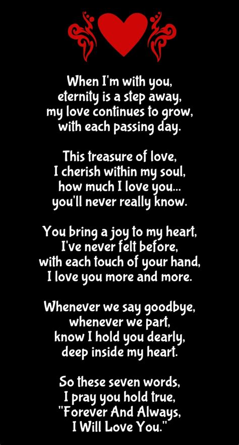 Long Romantic Poems for Her with Images - Hug2Love