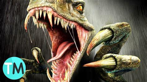 Los 10 Dinosaurios Más Peligrosos - YouTube