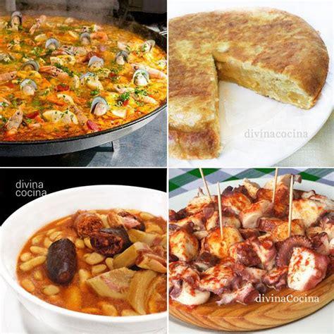 Los 10 platos más típicos de la cocina española   Divina ...