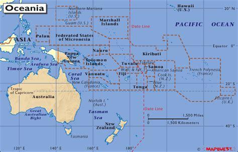 Los 3 Continentes: OCEANIA