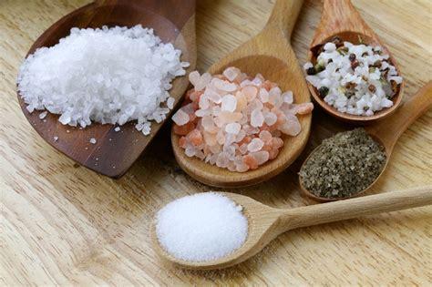 Los 4 mejores tipos de sal y sus propiedades secretas