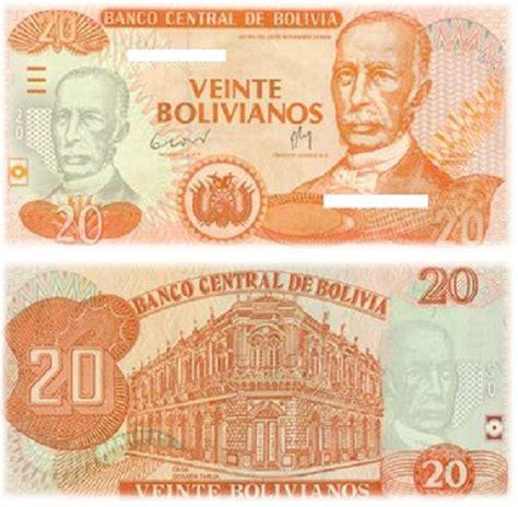 LOS 5 BILLETES EN CIRCULACIÓN DE BOLIVIA | Bolivia ...
