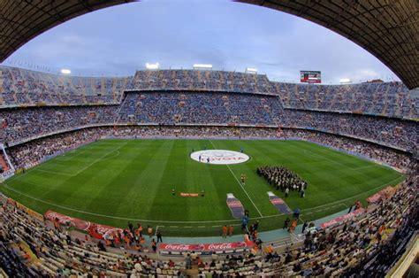 Los 5 estadios más grandes de España