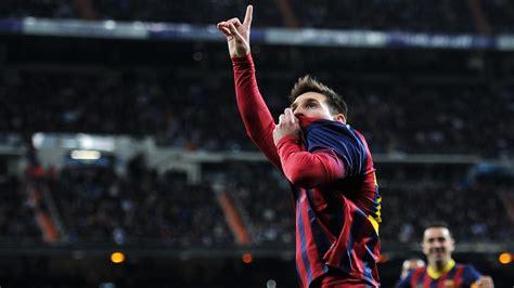 Los 5 mejores goles de Messi en un clásico   Liga BBVA