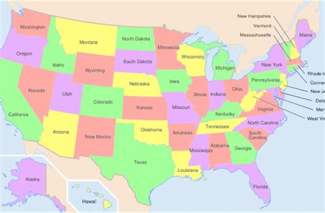 Los 50 Estados de Estados Unidos   TurismoEEUU