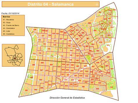 Los 6 barrios del distrito Salamanca de Madrid   Pongamos ...