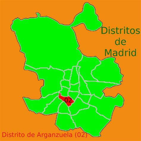 Los 7 barrios del Distrito de Arganzuela de Madrid ...
