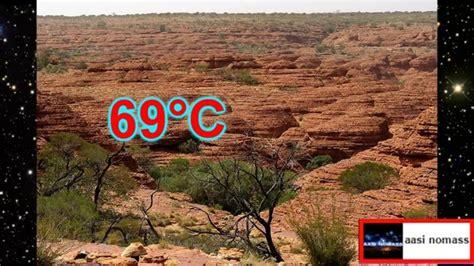 Los 7 lugares mas calurosos del mundo - YouTube