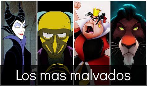 Los 9 villanos mas malvados de los dibujos animados. - YouTube