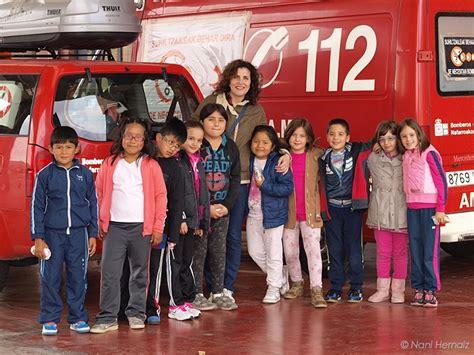 Los alumnos de 2º curso de Primaria visitan a los bomberos ...