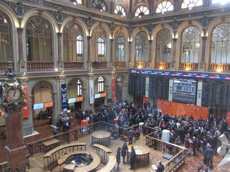 Los alumnos de Economía en la Bolsa de Madrid