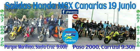 Los amantes de las Honda MSX se reúnen en Gran Canaria y ...