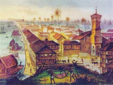 Los astilleros Guayaquil colonial   Un minuto con la ...