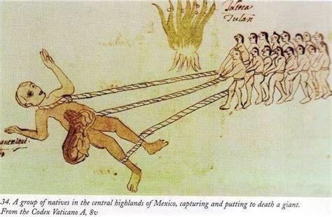 Los aztecas y los Gigantes de la antigua Mesoamérica ...